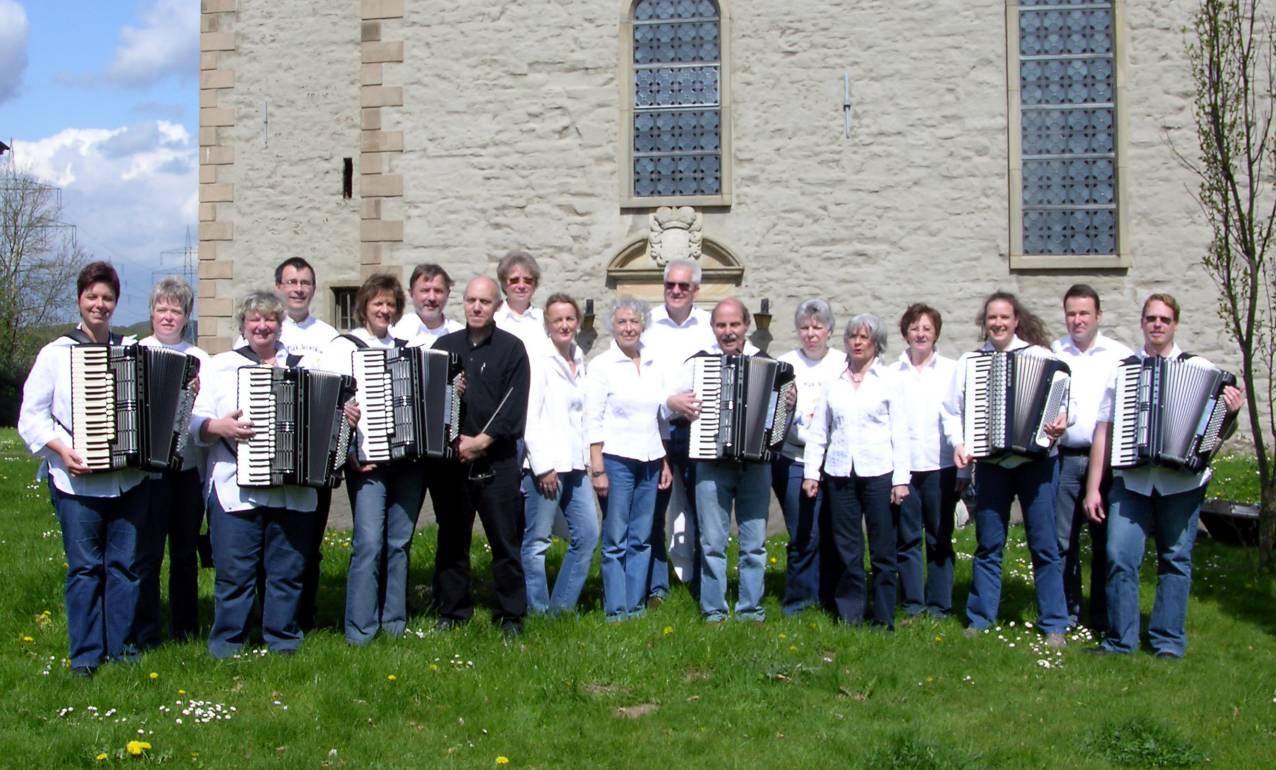 Orchester in Berchum 2008